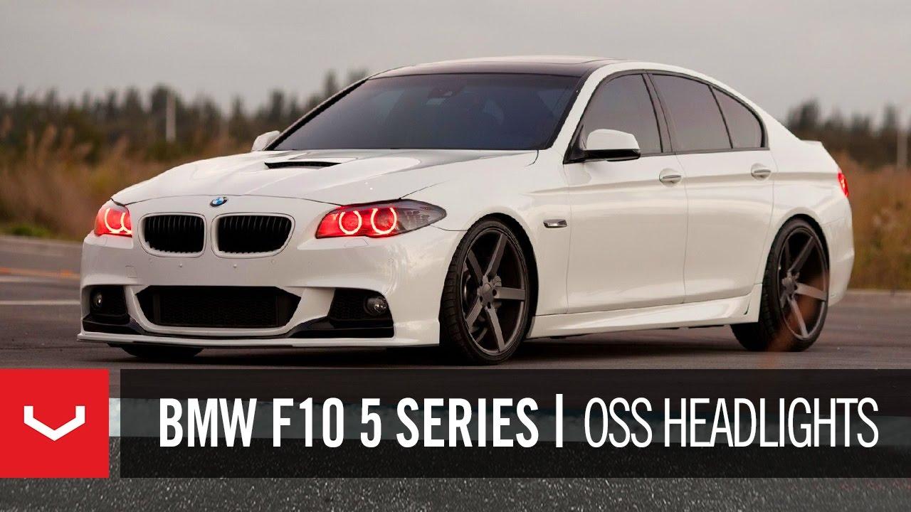 BMW F Series I On Vossen VVSCV Concave Wheels Rims - 2011 bmw 5 series rims
