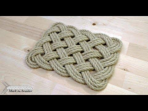 Rectangular Rope Mat You