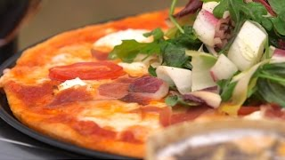 How to Make the Best Goats Cheese and Proscuitto Pizza in the Breville Smart Oven
