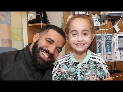 Drake Surprises Girl Waiting for Heart Transplant at Lurie Children's
