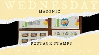 S&C Wednesday Information Video: Postage Stamps = A Masonic Opportunity
