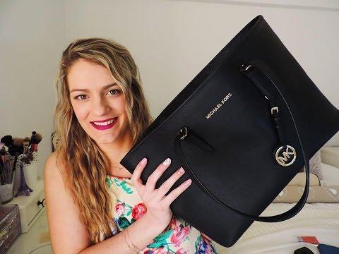 Τι έχω μέσα στην τσάντα μου-What's in my bag Michael Kors bag | Chic Beauty by Marinelli
