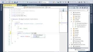 Unit Testing Asp.Net Mvc - Getting Started (Part 1)