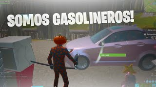 Haciendo de GASOLINEROS en FORTNITE