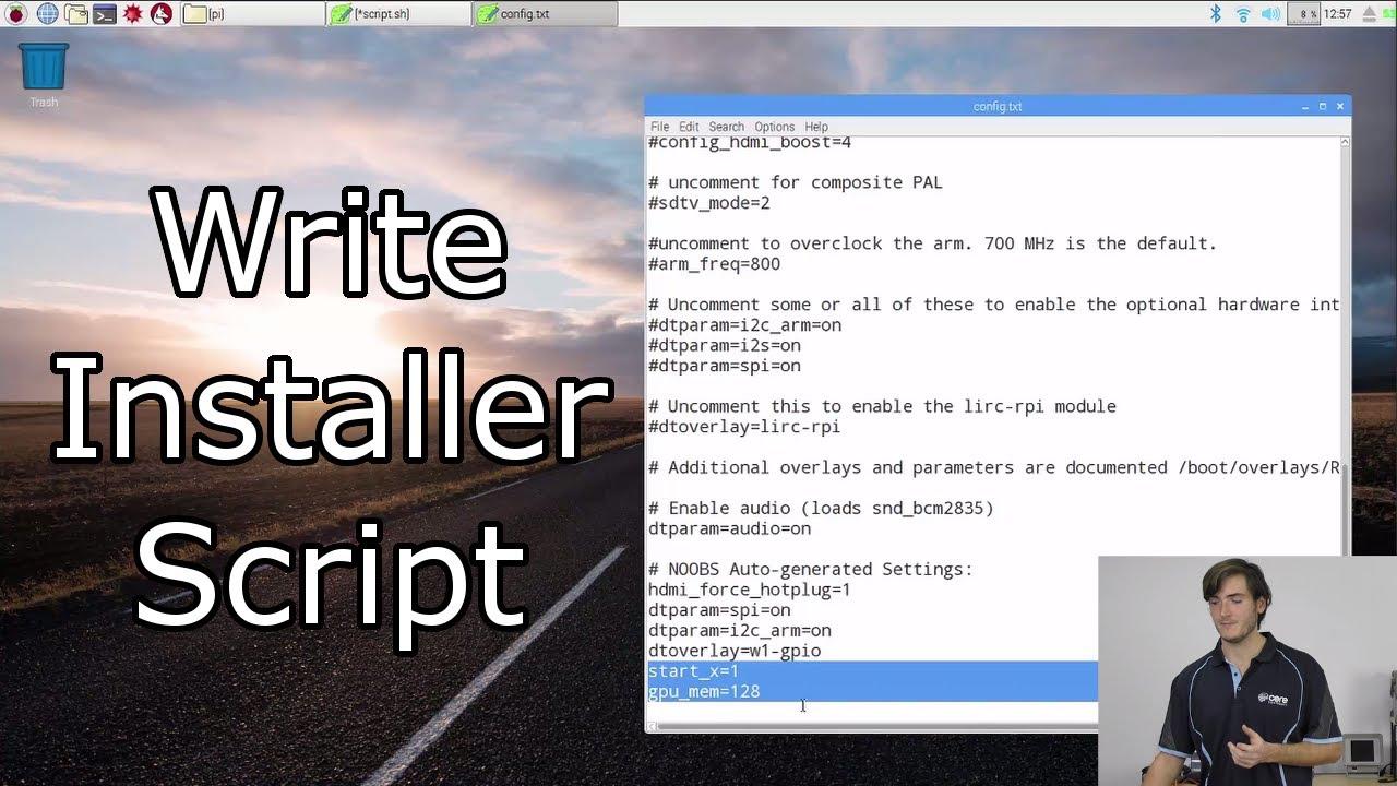 How to Create a Raspberry Pi Installer Script