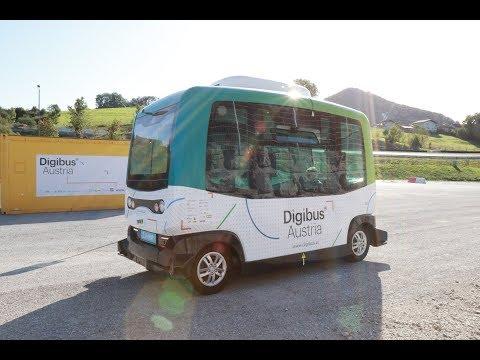 Digibus® Testfahrt ohne Operator @Salzburgring