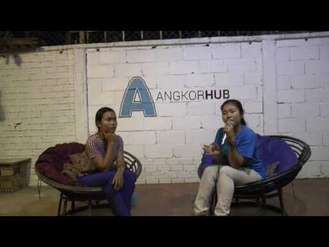 HUBTALK 20   Her Journey as a Cambodian Girl -  Lida Sim