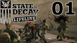 State of Decay: LIFELINE Let's Play #01 – Alles töten! [GERMAN GAMEPLAY]