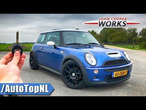 2004 MINI Cooper S JCW R53 TUNING KIT | REVIEW POV on AUTOBAHN (NO LIMIT) & ROAD by AutoTopNL