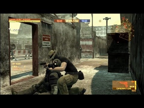 Metal Gear Online - Live Commentary - Team Deathmatch - Groznyj Grad (MGO Multiplayer Gameplay)