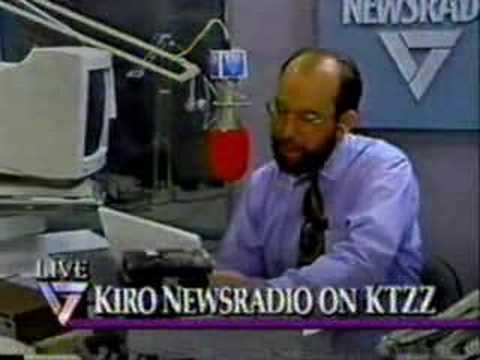 Seattle's KIRO Radio on KTZZ-TV  (1/4)  April 30th, 1993