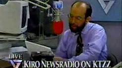 Seattle's KIRO Radio on KTZZ-TV  (1/4)  April 30th, 1993