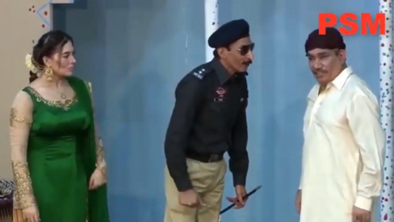 Nasir Chinyoti  Nargis  Zafri Khan Punjabi New Pakistani Stage Drama 2019