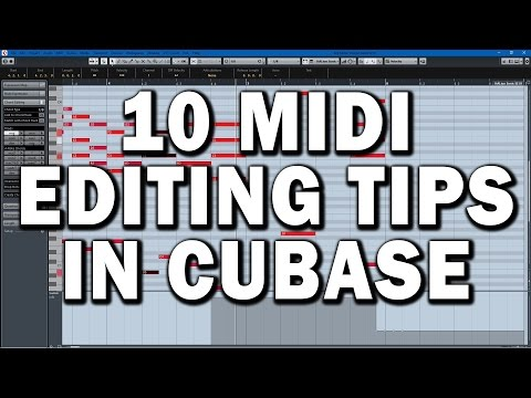 Cubase Tutorial: 10 MIDI Key Editor Tips and Tricks