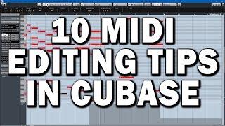 Cubase Tutorial: 10 MIDI Key Editor Tips and Tricks