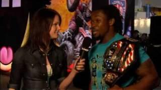 WWE Smackdown vs Raw 2010:THQ Interviews Kofi Kingston
