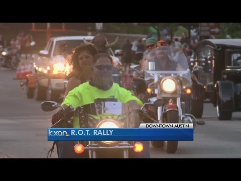 ROT Rally Rolls into Downtown Austin