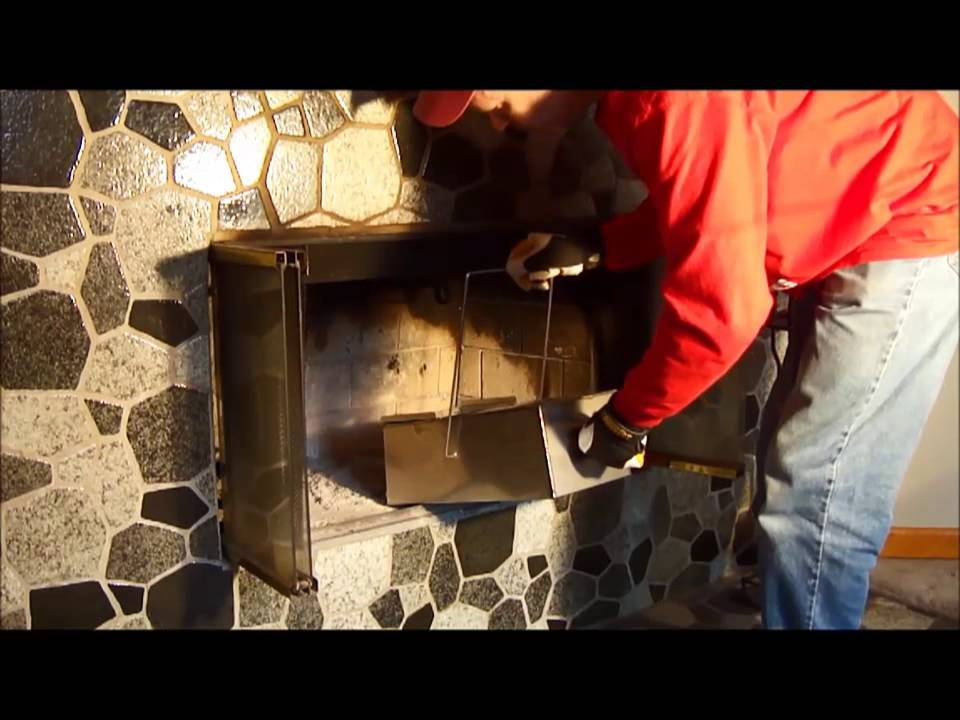 How to clean the ash out of a fireplace. - YouTube