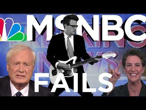 Top 20 MSNBC News Fails