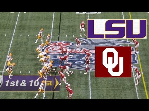 Oklahoma vs LSU Football Bowl Game 12 28 2019