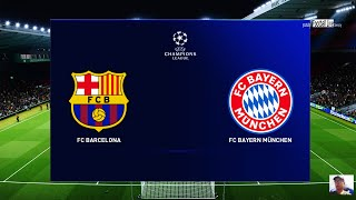 Pes 2020 | fc barcelona vs bayern munchen uefa champions league ucl l.messi lewandowski gameplay pc subscribe please)) http://www./c/foot...