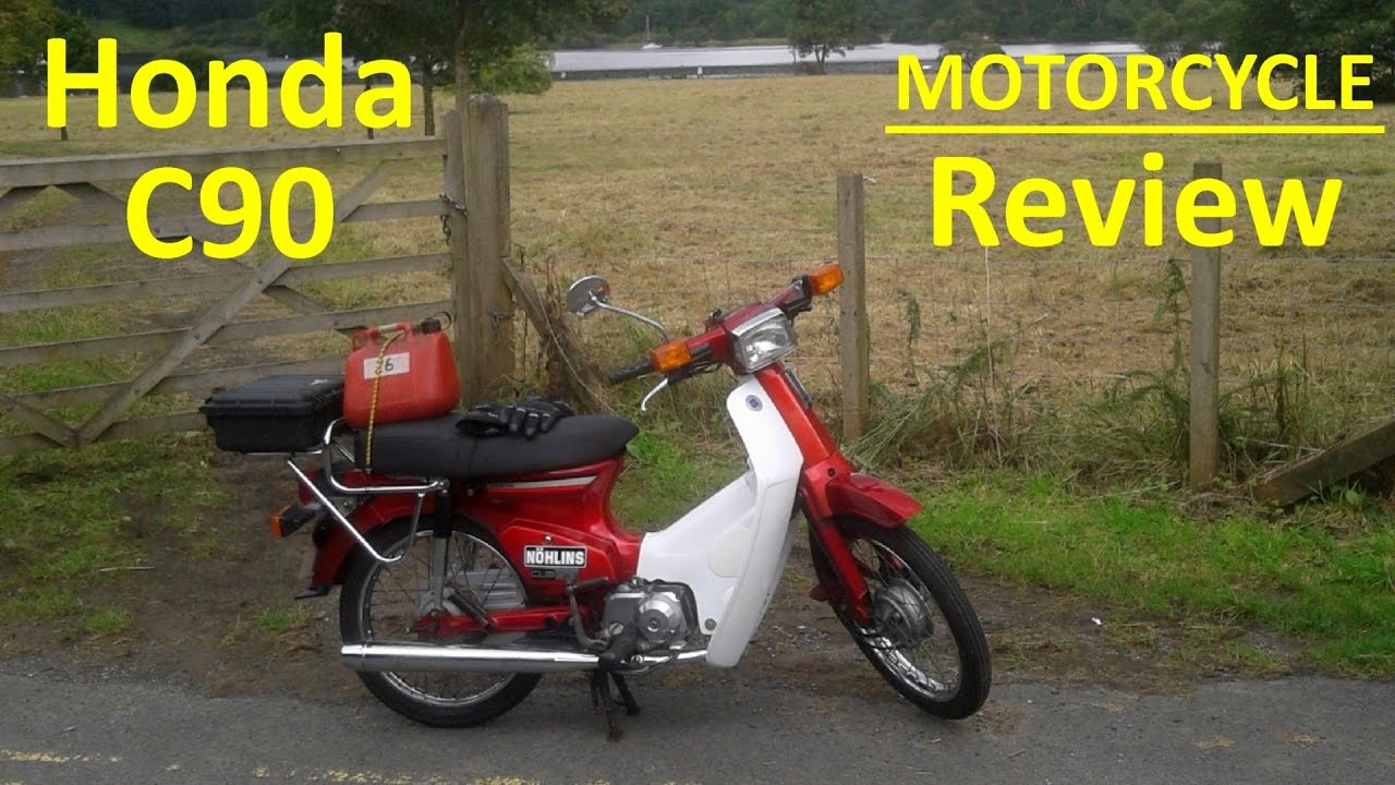 honda c90 cub - motorcycle review - youtube