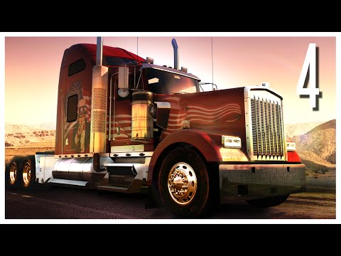 American Truck Simulator - Ep.04 : San Francisco & The Golden Gate Bridge!