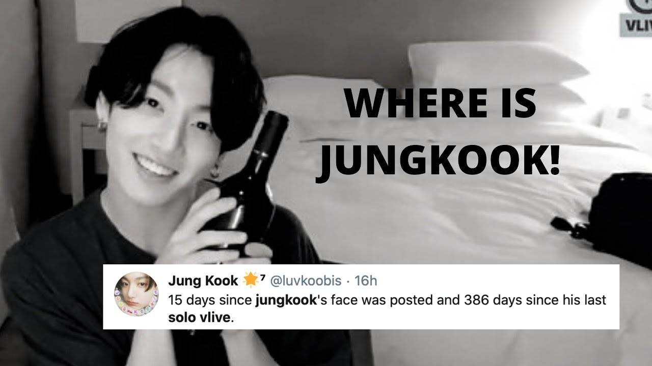 where is jungkook...(387 DAYS)