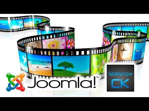 Настройка модуля Слайдшоу для Joomla (Slideshow CK)
