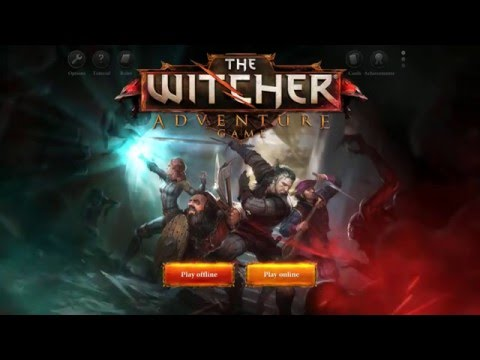 """""""The Male Gaze Minigame"""" Let's Play The Witcher Adventure Game Episode 4 with Breadman"""