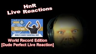 Dude Perfect [World Record Edition] Live Reaction