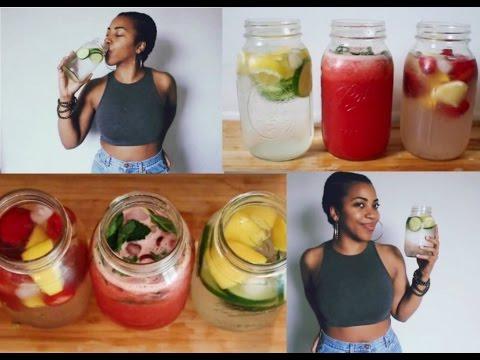 3 Hydrating Drink Recipes for Summer  Sadiya Marie