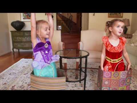 Mila & Emma Get Ready For Halloween!