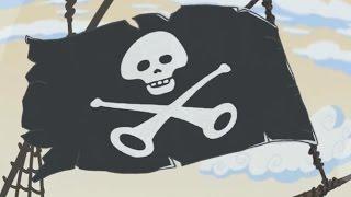 Добрые поучительные мультики для детей | Летающие звери - Музыкальные пираты