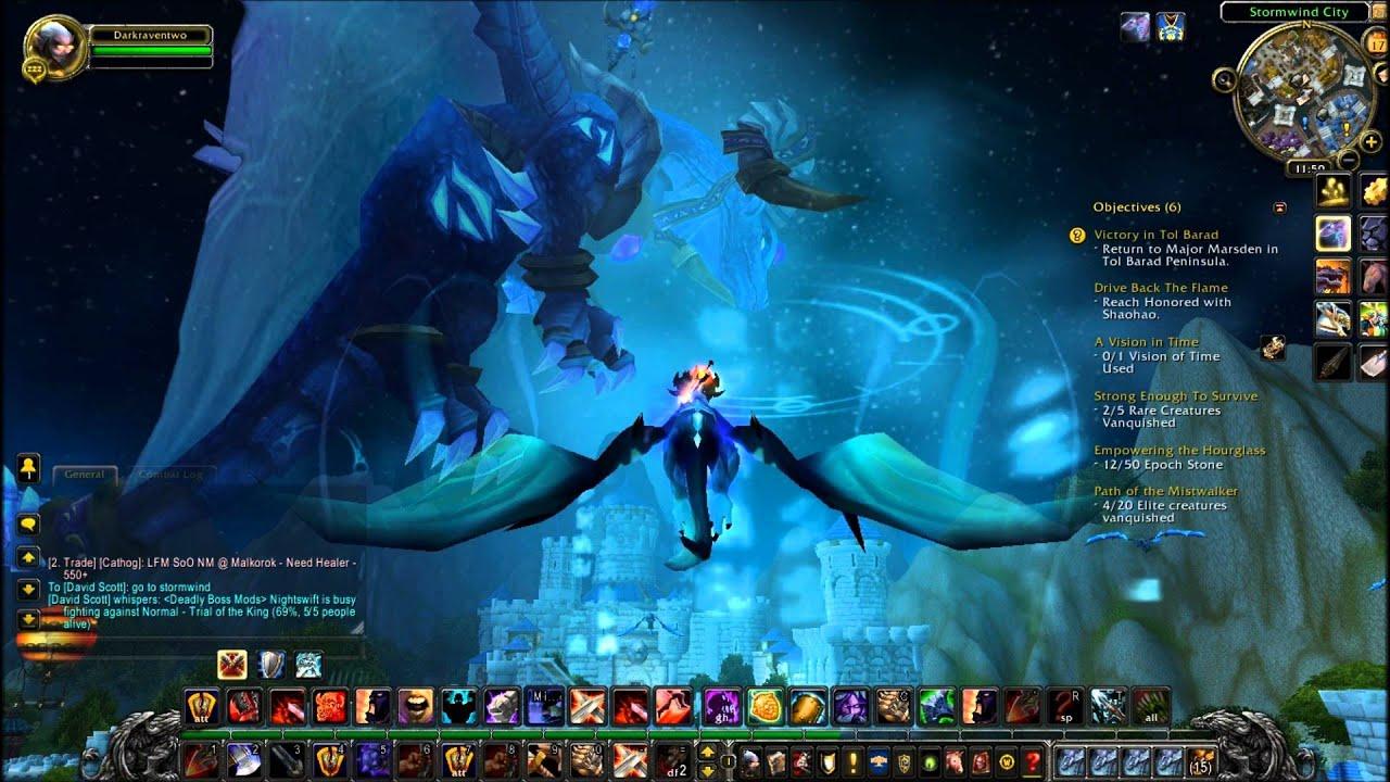 Blue Dragonflight in Stormwind