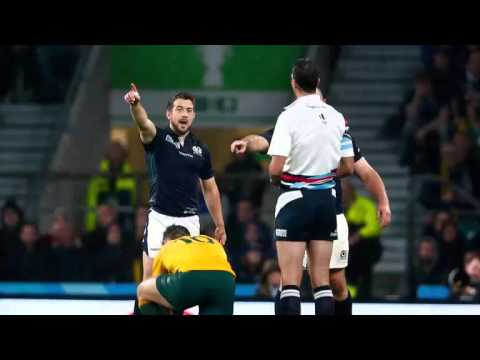 RWC - Craig Joubert Sprints Off Pitch [Audio]