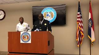 Video: St. Louis Police update on homicides