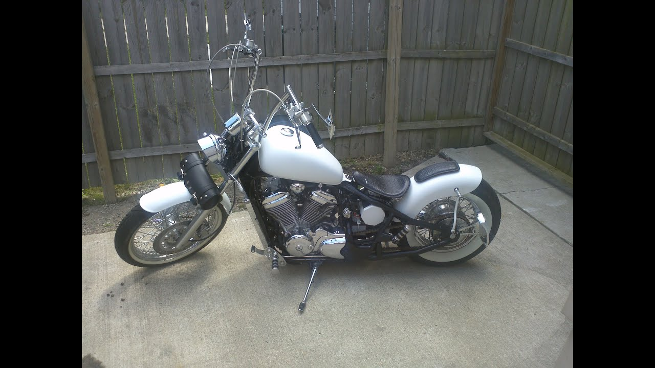 Honda Shadow Bobber Parts And Accessories 1983 2003 600 Vlxcustom Hard Tail You