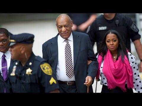 Bill Cosby's TV Daughter Enters Court With Him on First Day of Trial
