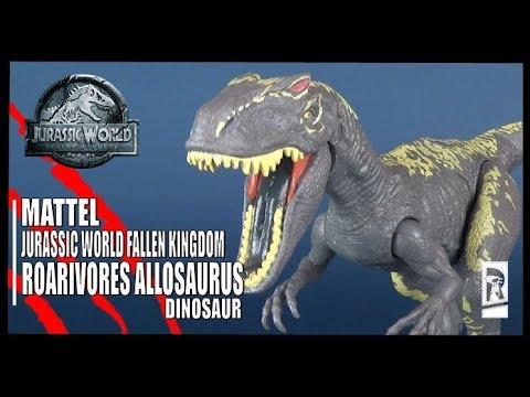 Jurassic World Allosaurus  Roarivores Dinosaur Mattel NEW