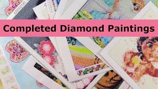 Completed Diamond Painting Collection Finished DIY Projects   PaulAndShannonsLife
