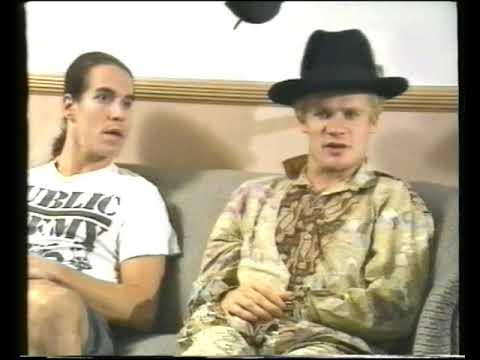 Red Hot Chili Peppers - Australian Tour Cancellation Reports & Interviews (1992)