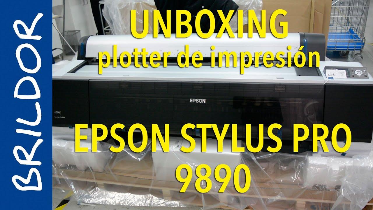 Impresora Epson Sylus Pro 9890