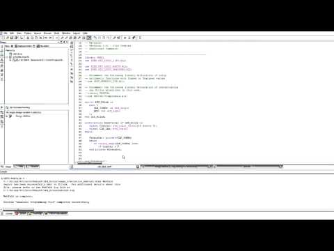 VHDL with Xilinx - LED Blink Tutorial