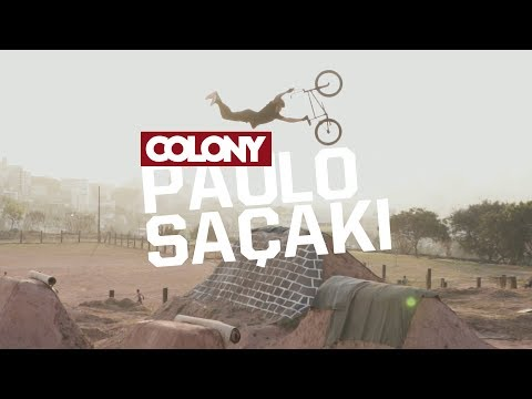 Paulo Saçaki spent a few days at Sao Paulo filming at Vans Park , Mooca and the famous Caracas Trails where he stacked some amazing clips. Shot/Cut by ...