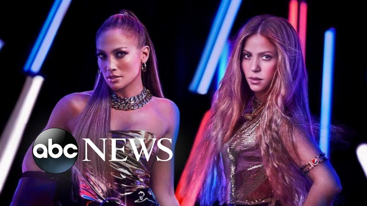 Image result for j lo and shakira halftime show""
