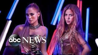 J. Lo and Shakira to perform at Super Bowl halftime show | ABC News