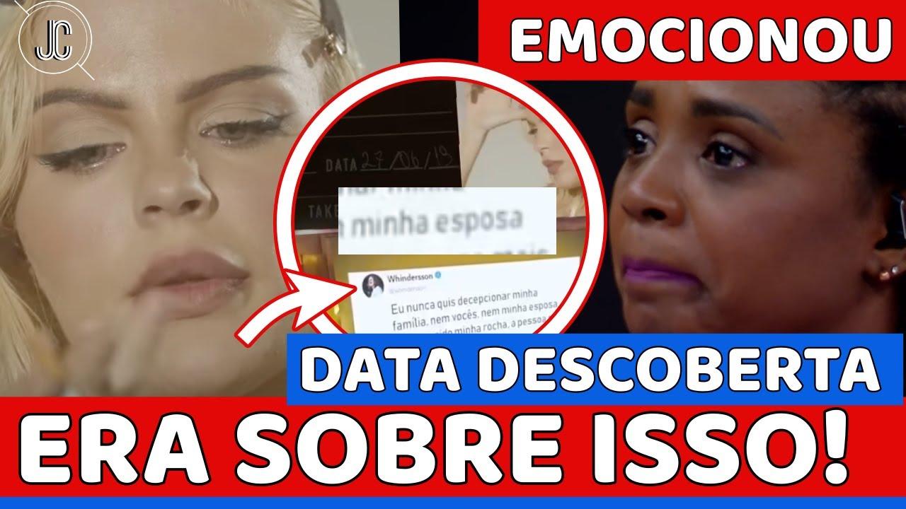🔥MOTIVO: Luísa Sonza EXPÕE APOIO a Whind e fãs DESCOBREM DATA; Rebeca É PRATA, Daiane EMOCIONA