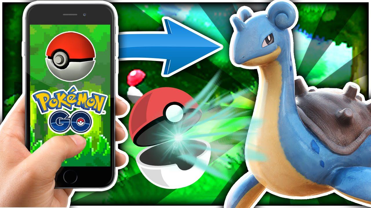 catching the rarest water pokemon (pokemon go) - youtube