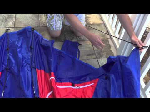 Rio Portable Beach Shelter Assembly Instructions